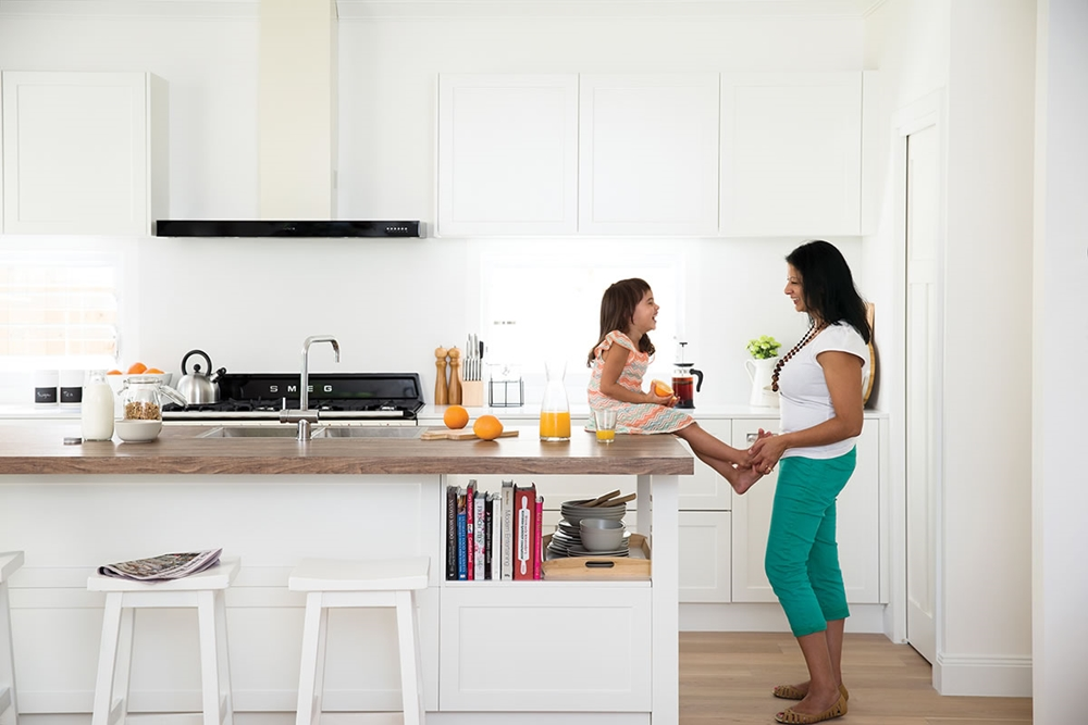 A well-designed kitchen is the centre of family life.