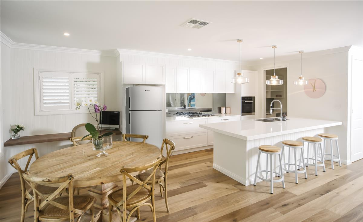 Interior G.J. house with Hamptons styling